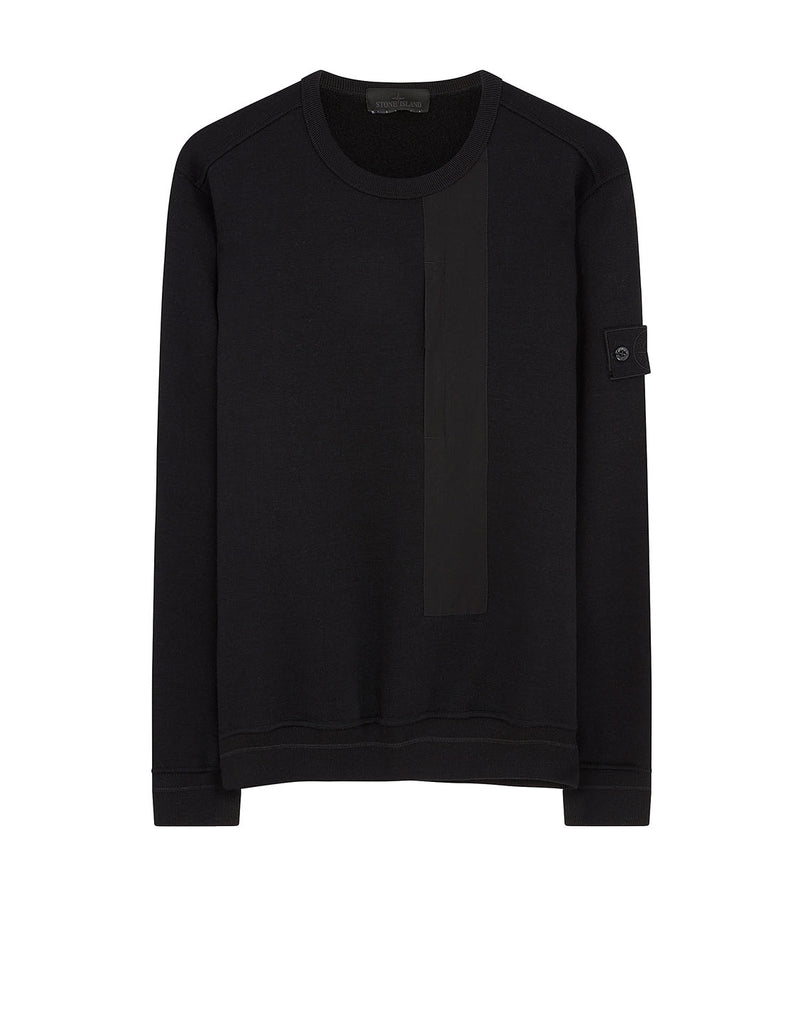 650F3 Ghost Piece Sweatshirt in Black
