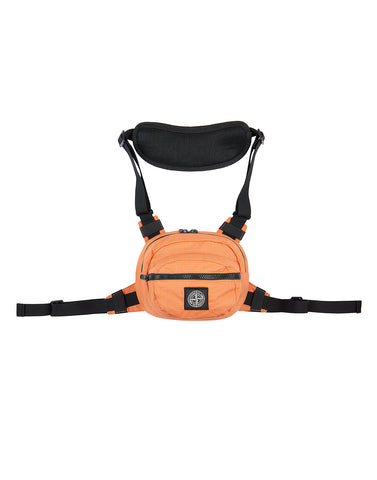 90766 REFLECTIVE WEAVE RIPSTOP Bumbag in Orange