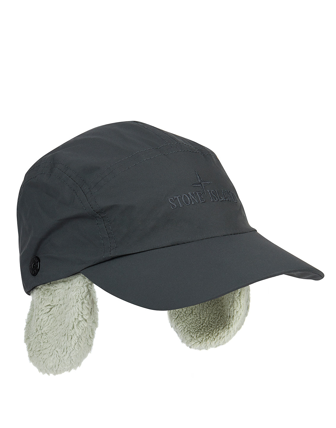 99878 GORE-TEX INFINIUM COTTON TERRY Cap in Dark Grey