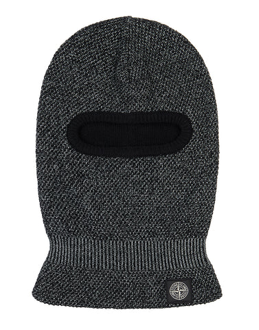 N18C6 REFLECTIVE BEANIE in Black