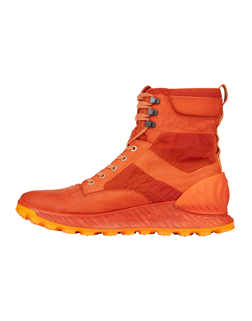S0695 Garment Dyed Leather Exostrike Boot in Orange