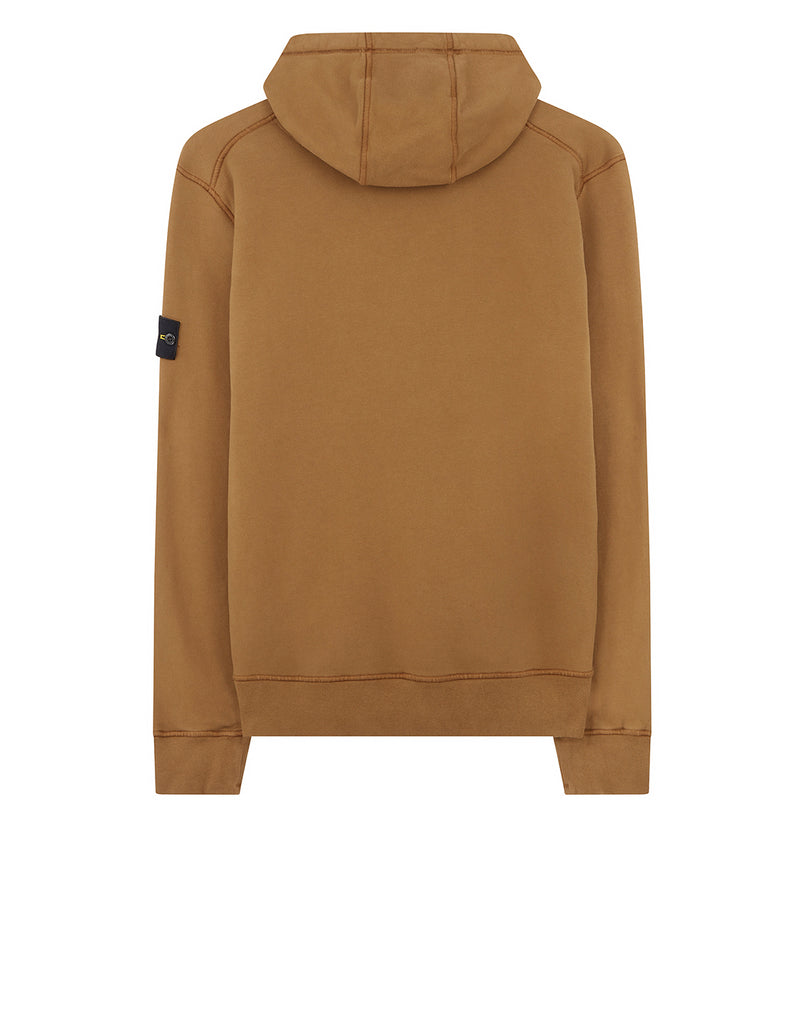 64120 Hooded sweatshirt in Tobacco