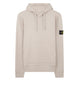 64120 Hooded sweatshirt in Dove Grey