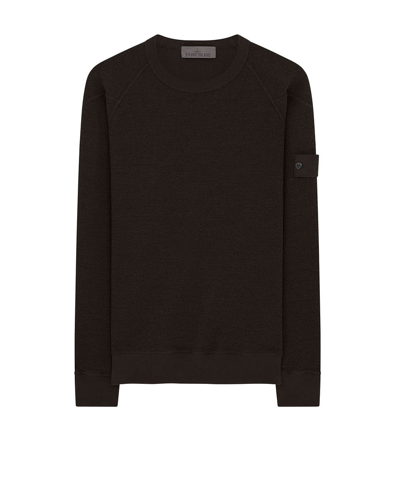 654F5 Crewneck Sweatshirt in Dark Brown