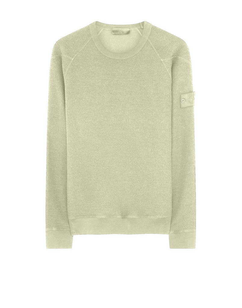 654F5 Crewneck Sweatshirt in Beige