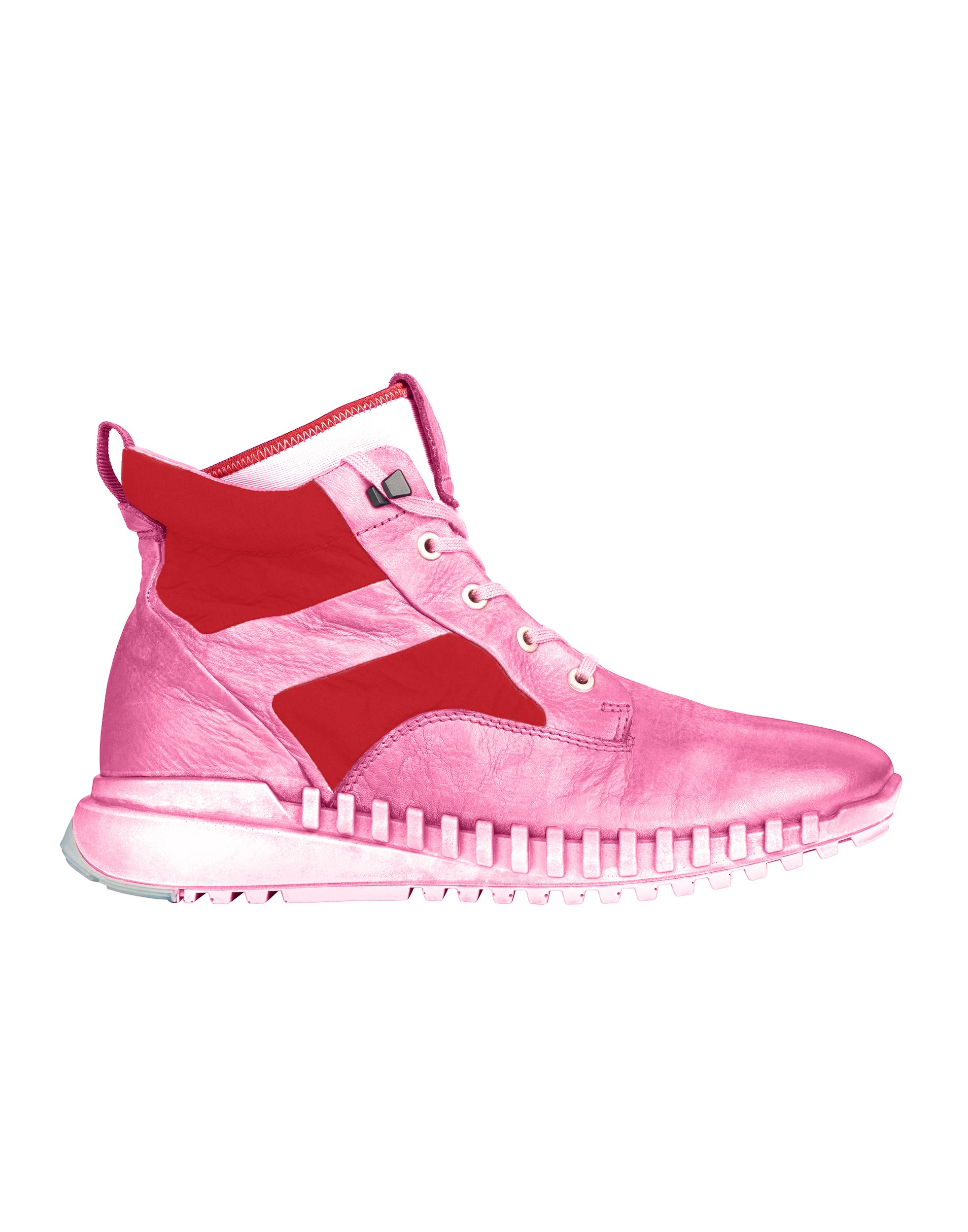 S0796 Garment Dyed Leather Exostrike Boot With Dyneema® in Pink