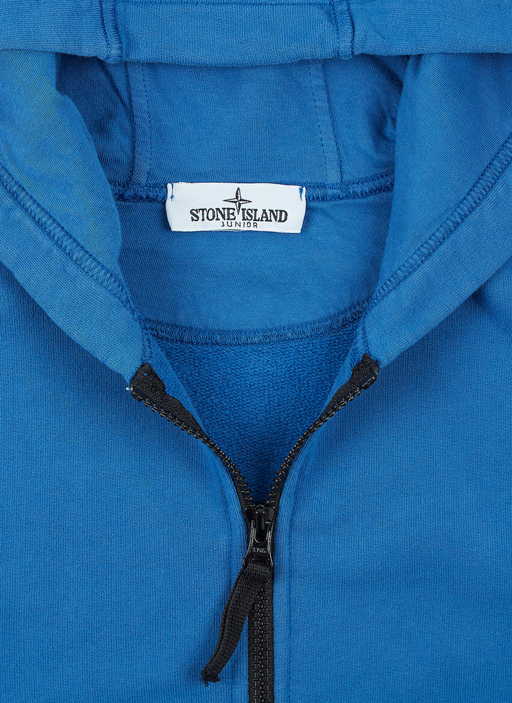 60740 Zip Through Sweatshirt in Periwinkle