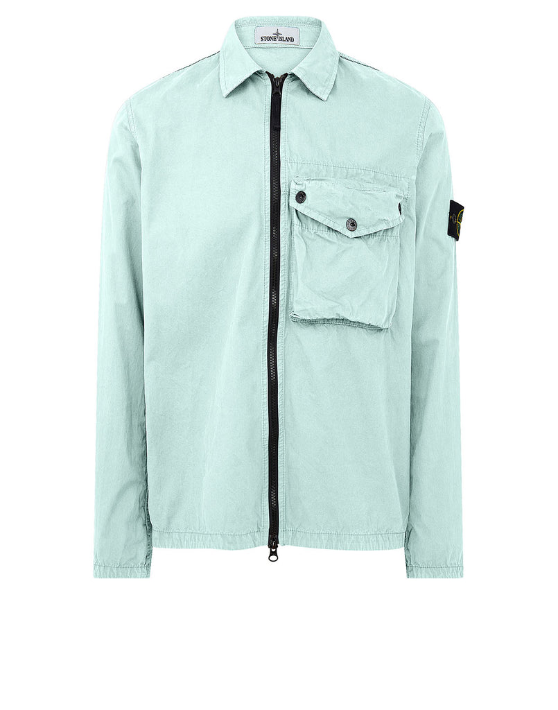 117WN T.CO 'OLD' Overshirt in Aqua