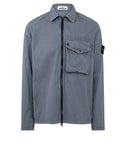 117WN T.CO 'OLD' Overshirt in Powder Blue