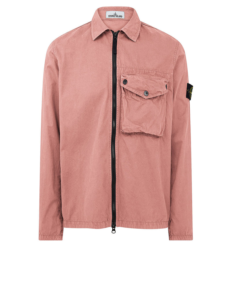 117WN T.CO 'OLD' Overshirt in Rose Pink