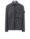 117WN T.CO 'OLD' Overshirt in Pewter Grey