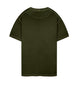 23757 T-Shirt in Olive Green