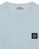 24113 Garment Dyed Cotton Jersey T-Shirt in Sky