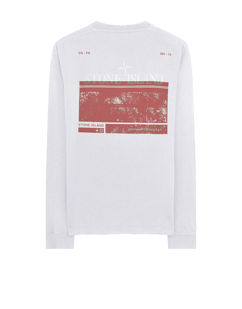 2Ml66 'BLOCK TWO' T-Shirt in White