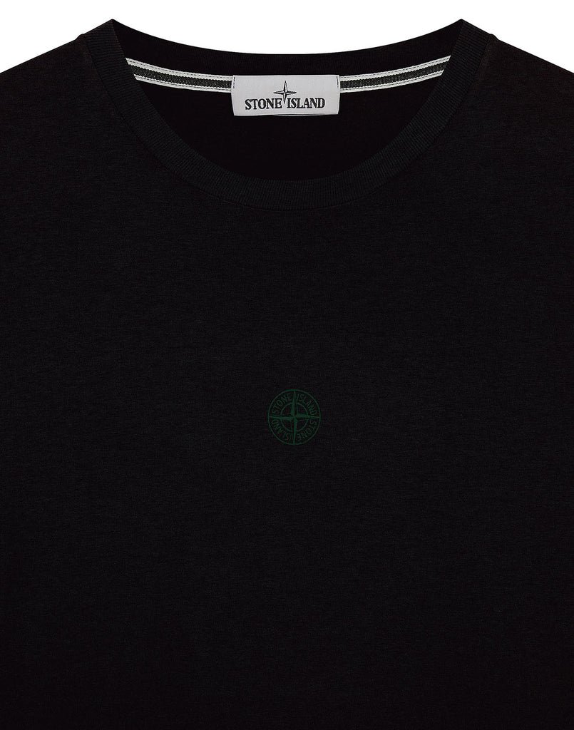 2Ml66 'BLOCK TWO' T-Shirt in Black