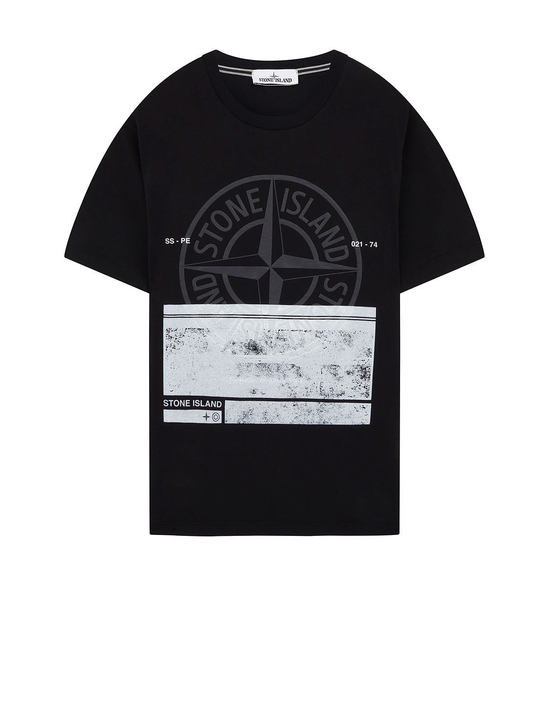 2NS65 'BLOCK ONE' T-Shirt in Black