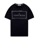 2NS80 'STENCIL ONE' T-Shirt in Navy