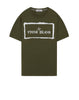 2NS80 'STENCIL ONE' T-Shirt in Olive Green