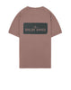 2NS80 'STENCIL ONE' T-Shirt in Onion Pink