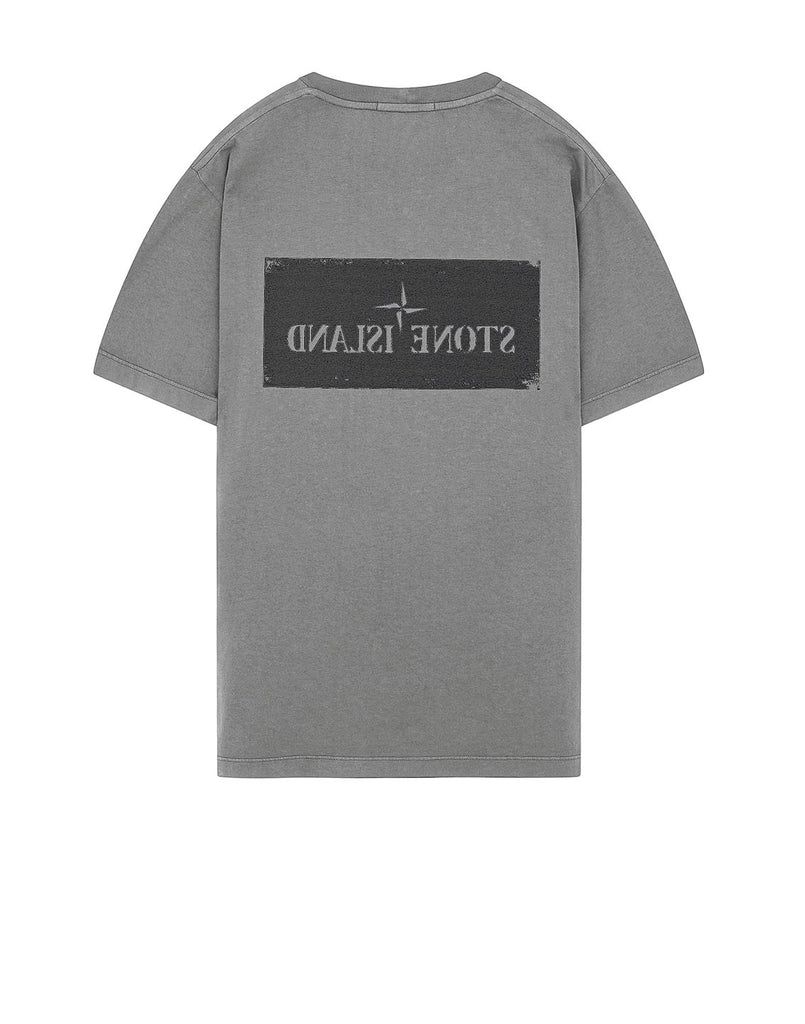 2Ns80 T-Shirt in Grey Marl