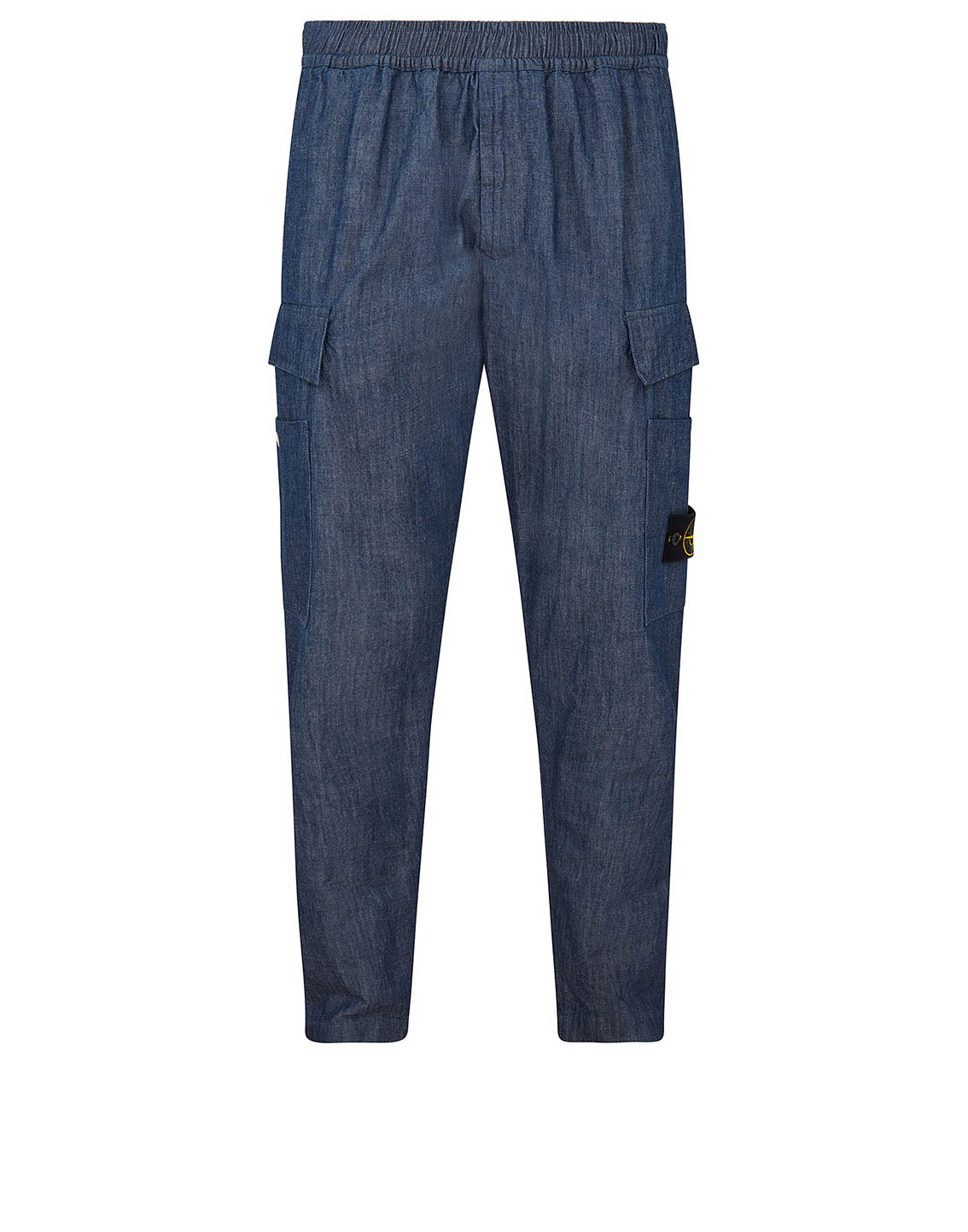 31107 CHAMBRAY CANVAS Pants in Blue