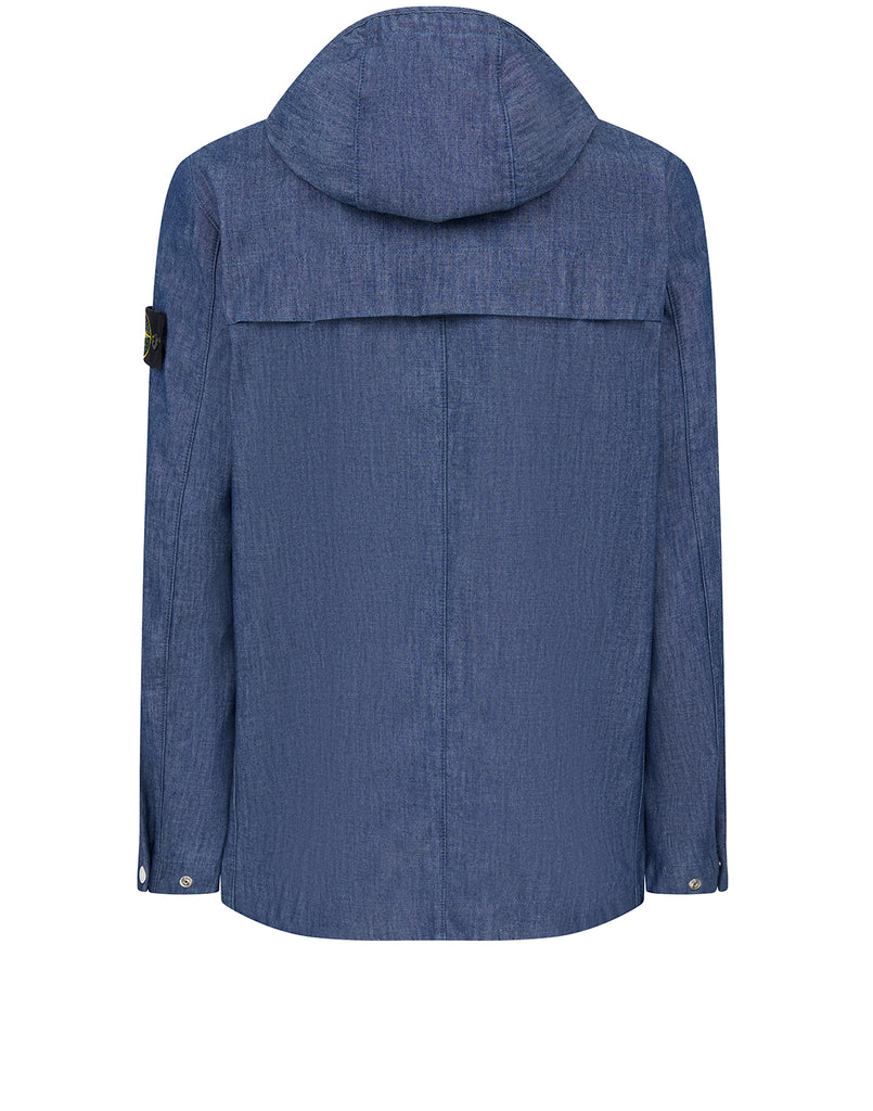 43747 MAC CHAMBRAY 3L Jacket in Blue