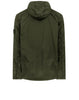 441F1 GHOST PIECE_STRETCH WOOL NYLON REVERSIBLE Jacket in Military Green