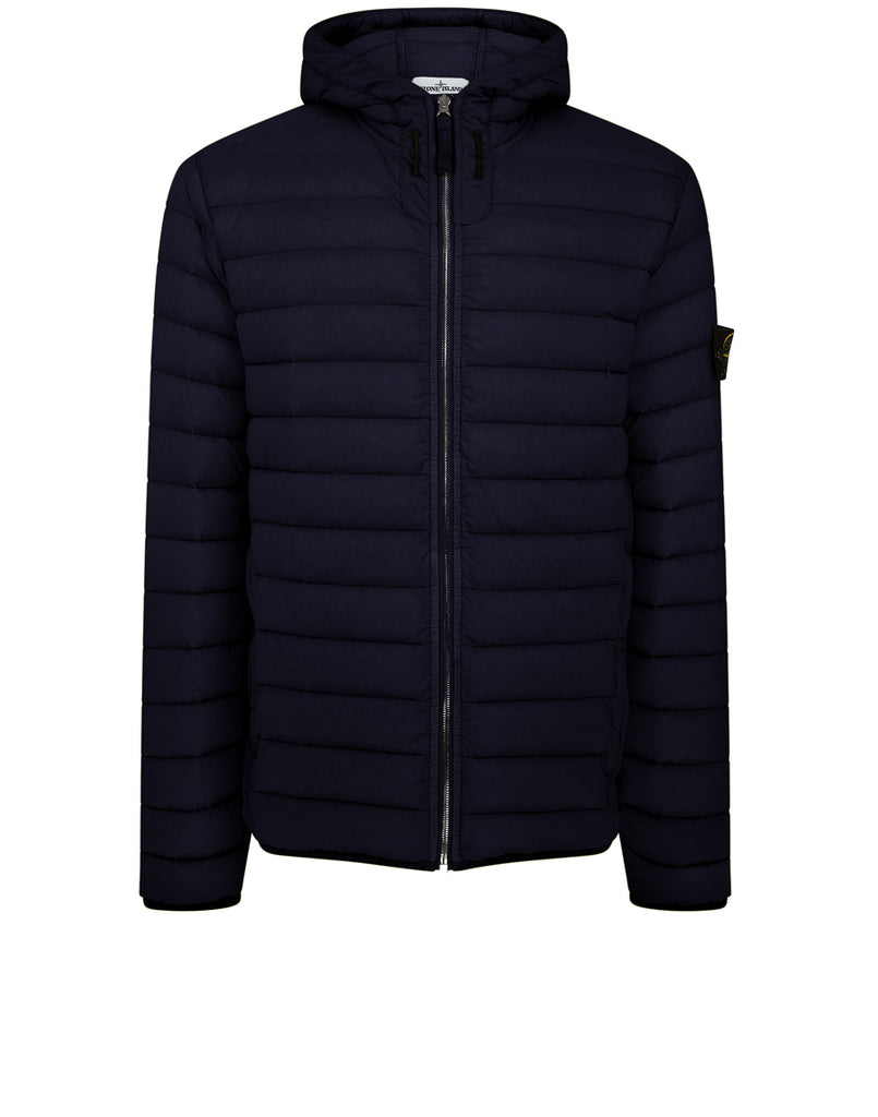 44525 LOOM WOVEN DOWN CHAMBERS STRETCH NYLON-TC Jacket in Navy