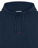 617X2 STONE ISLAND MARINA COTTON/POLYESTER SEAQUAL® YARN FLEECE Sweatshirt in Dark Blue