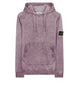 62090 DUST COLOUR TREATMENT Sweatshirt in Rose Quartz