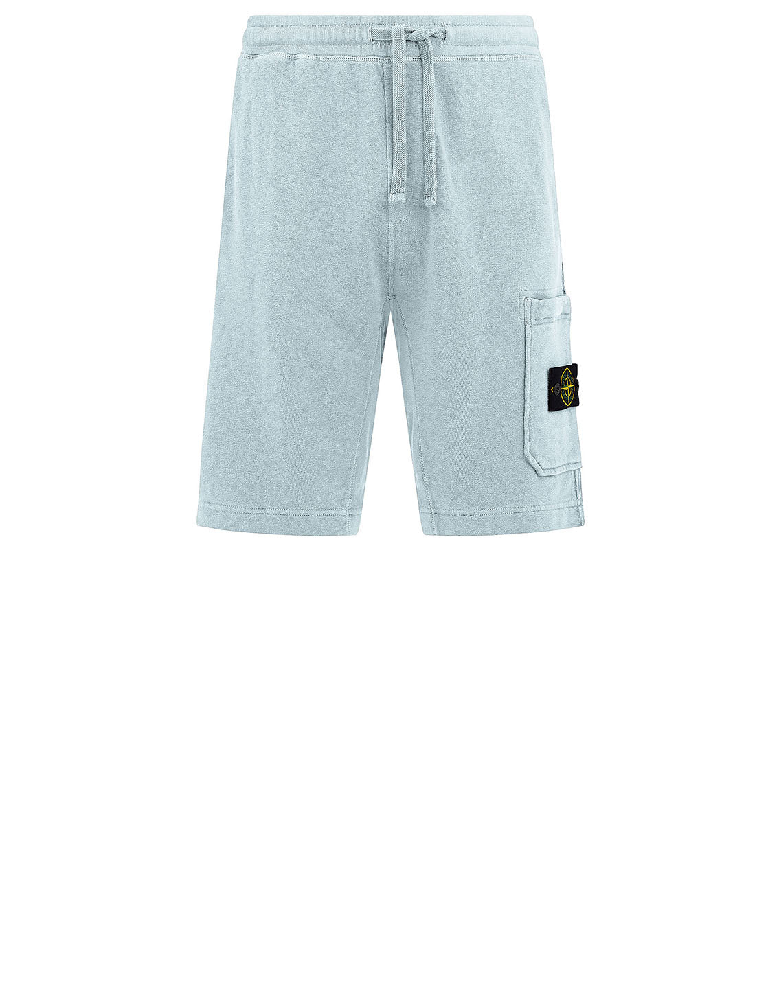 63560 T.CO+OLD Fleece Bermuda Shorts in Sky Blue