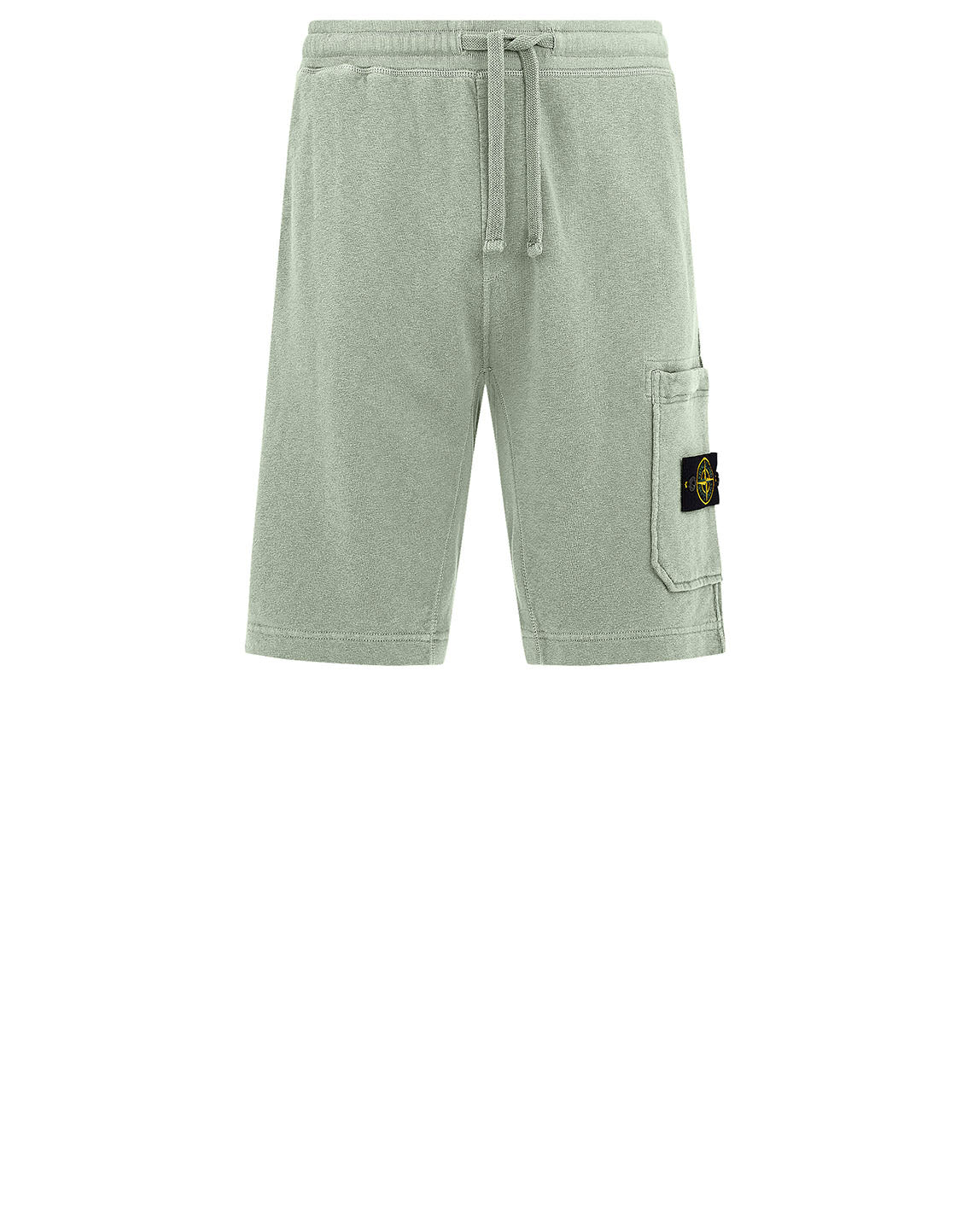 63560 T.CO+OLD Fleece Bermuda Shorts in Light Green