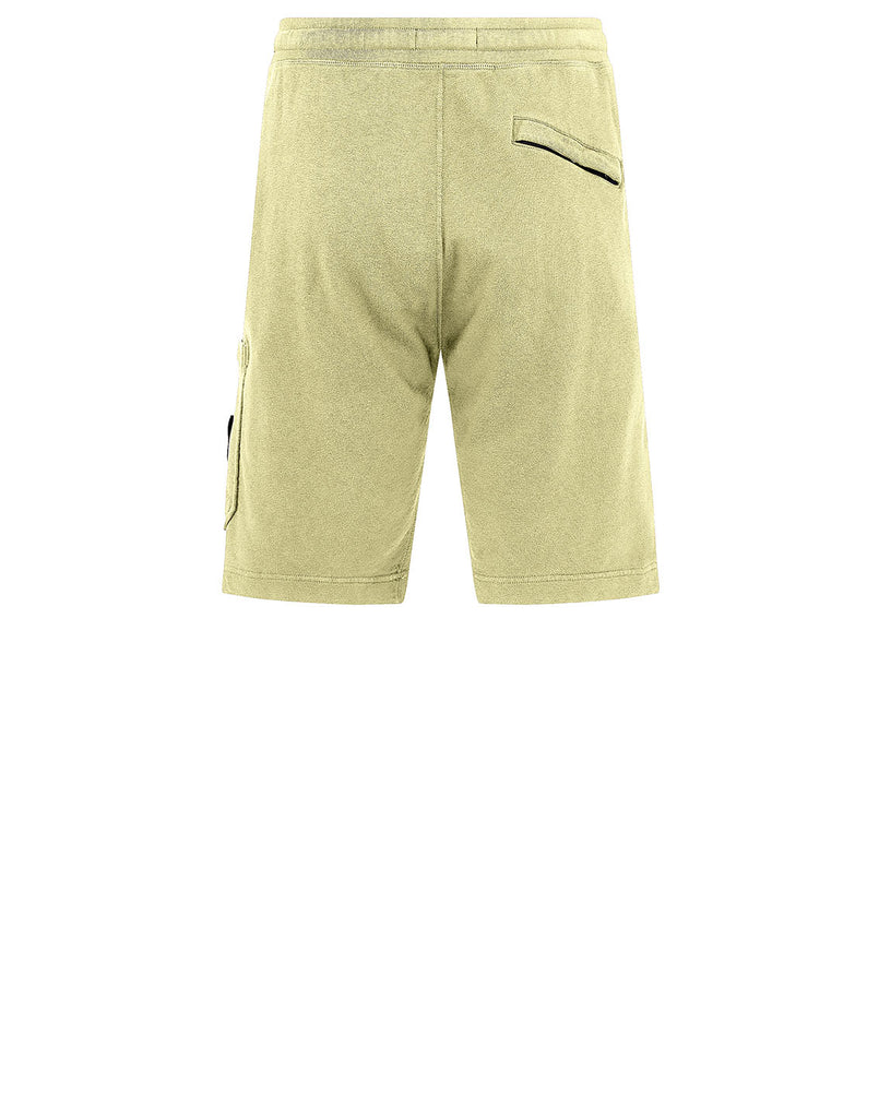 63560 T.CO 'OLD' Fleece Shorts in Lemon