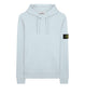 64151 Hooded Sweatshirt in Sky Blue