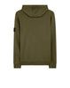 64251 Zip Sweatshirt in Olive Green