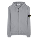 64251 Zip Sweatshirt in Grey Marl