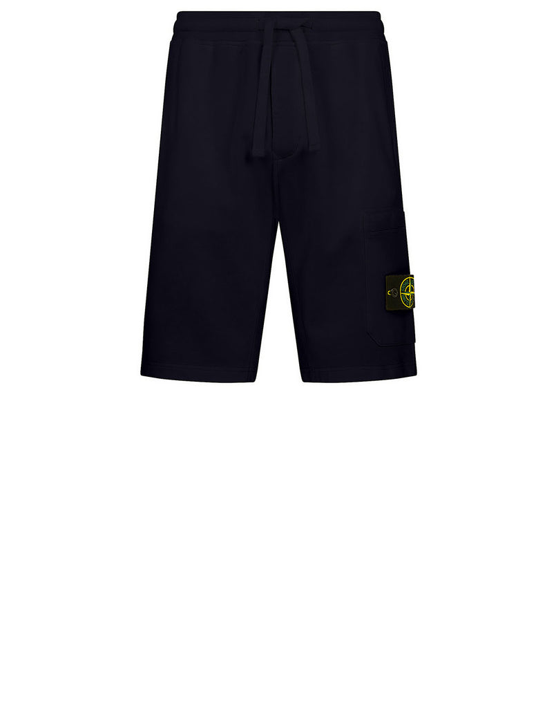 64651 Fleece Shorts in Navy