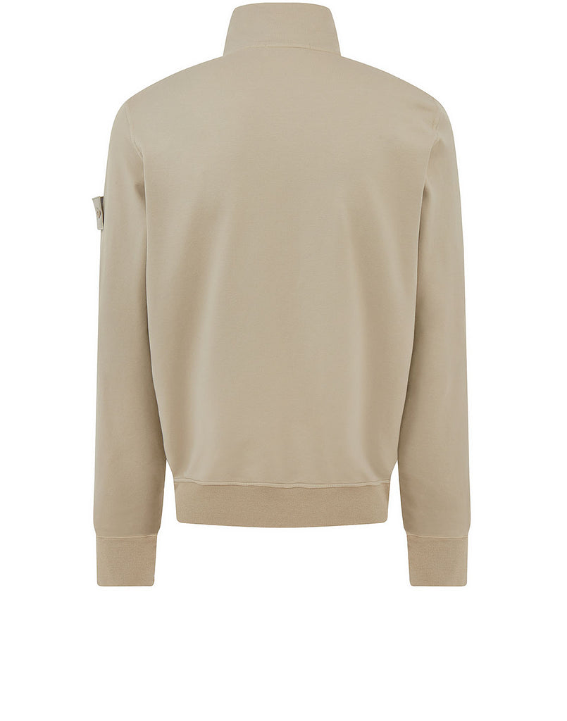 654F3 GHOST PIECE_COTTON STRETCH FLEECE Sweatshirt in Beige