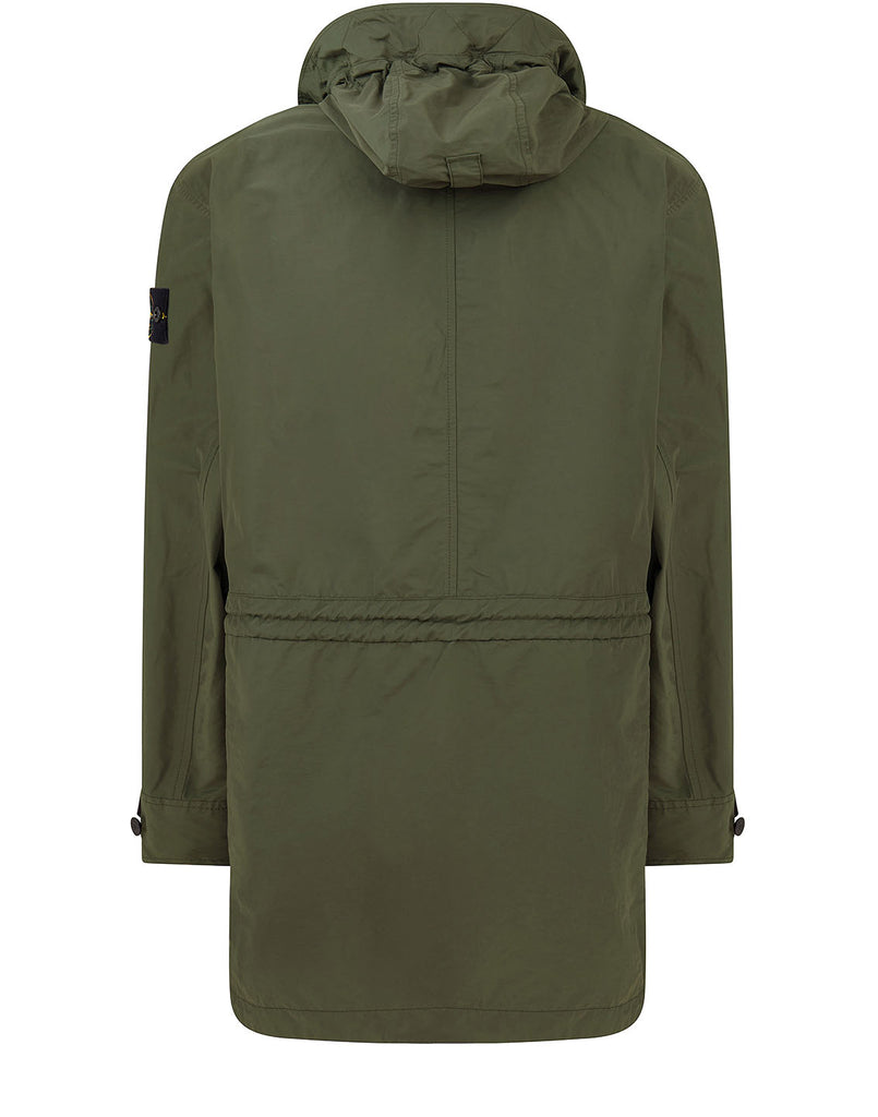 70222 Micro Reps Parka in Olive Green