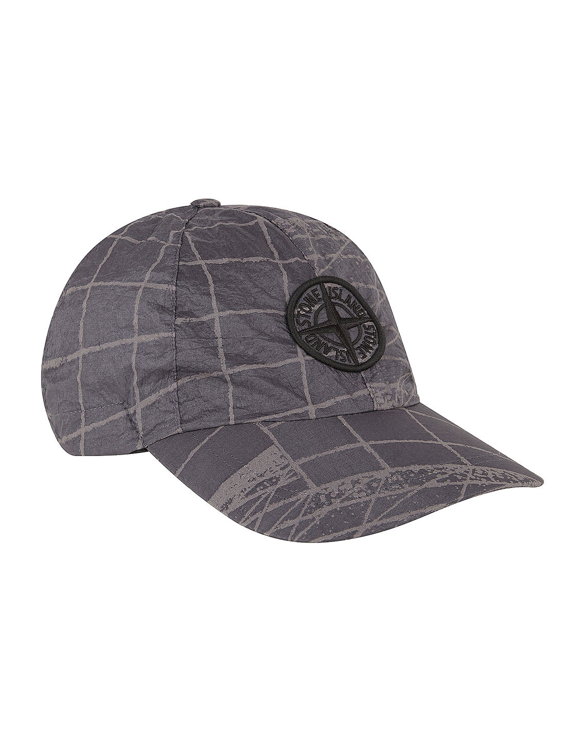 99598 REFLECTIVE GRID ON LAMY Hat in Pewter Grey