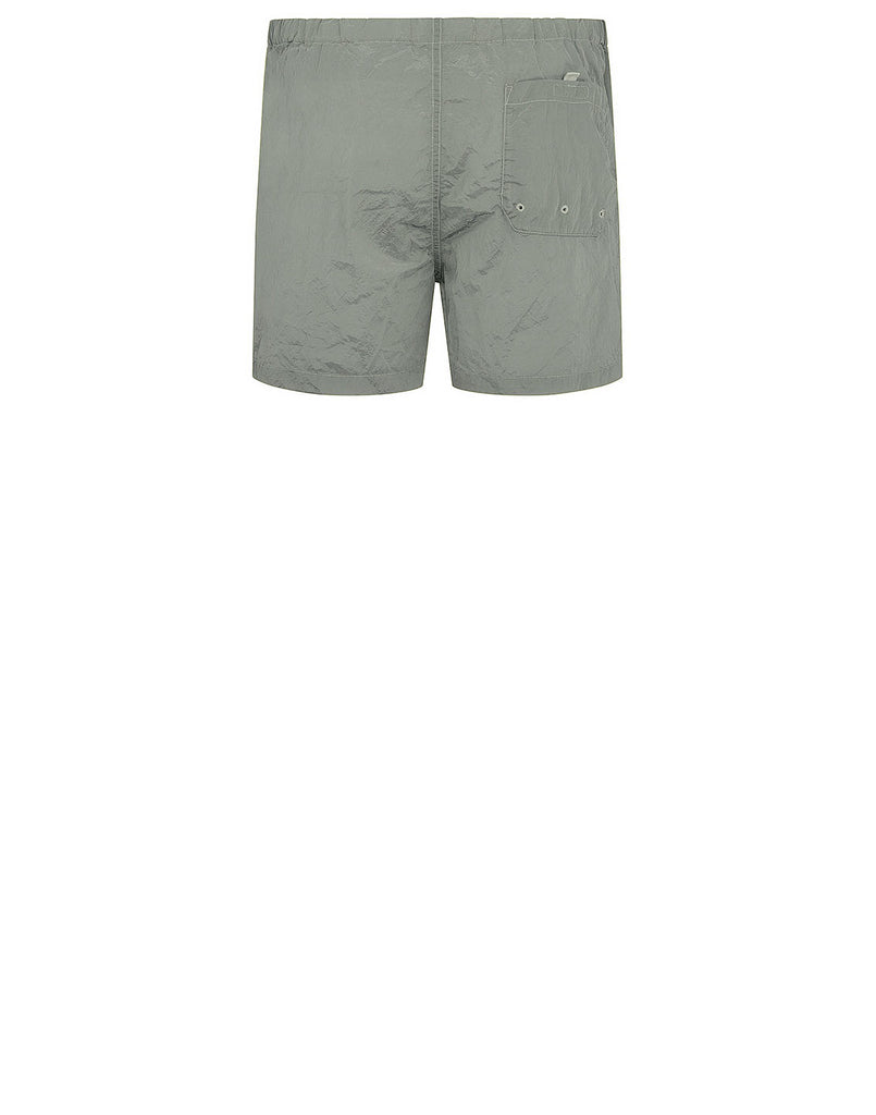 B0643 NYLON METAL Shorts in Light Green