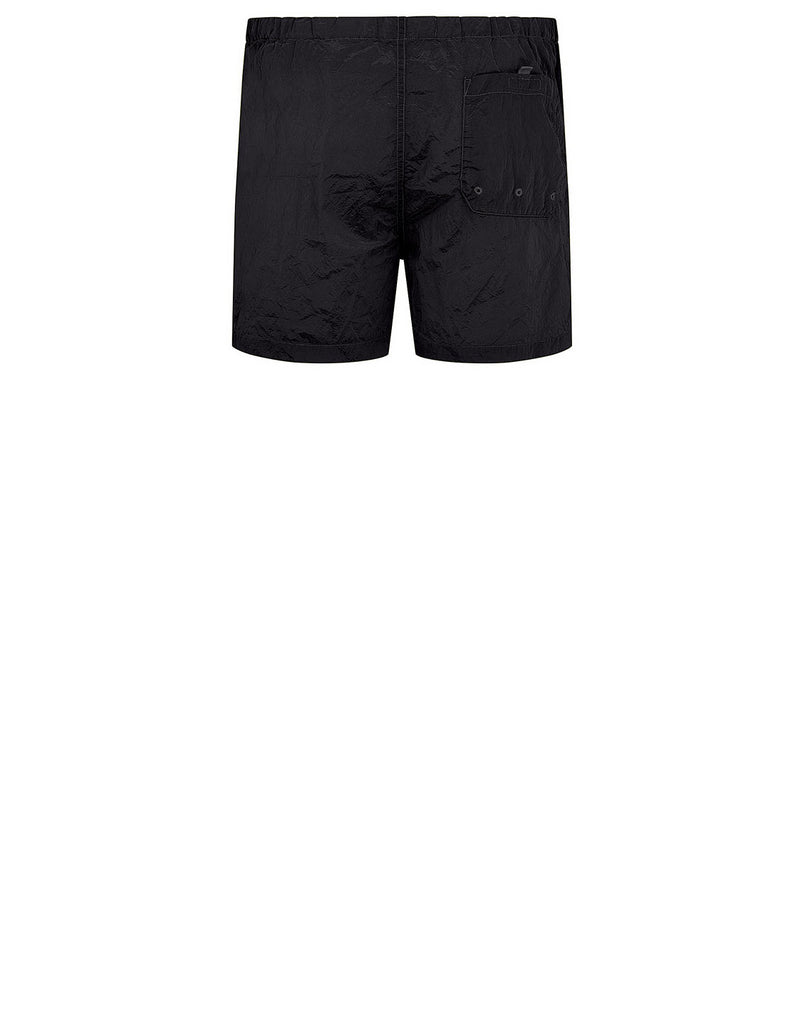 B0643 NYLON METAL Shorts in Dark Grey