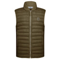 G0225 LOOM WOVEN DOWN CHAMBERS STRETCH NYLON-TC Jacket in Olive Green