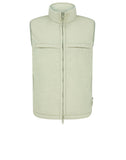 G05F1 GHOST_PIECE STRETCH WOOL NYLON REVERSIBLE Vest in Beige