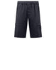 L06F2 GHOST PIECE Bermuda Shorts in Navy