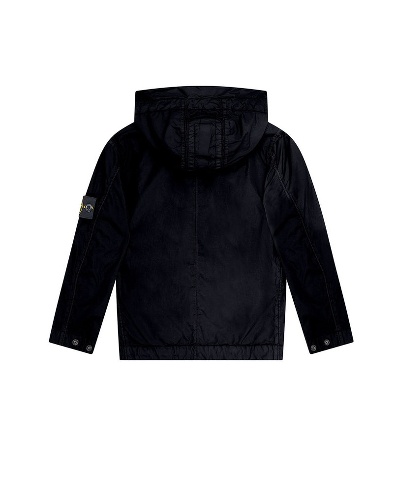 40233 CRINKLE REPS NYLON Jacket in Black