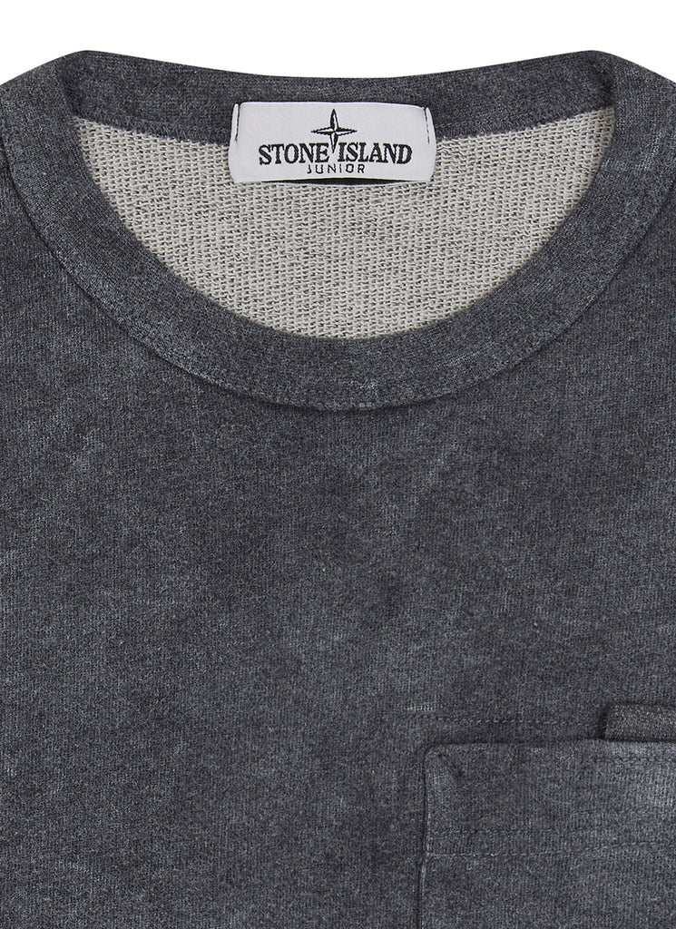 61144 DUST COLOUR TREATMENT Sweatshirt in Grey