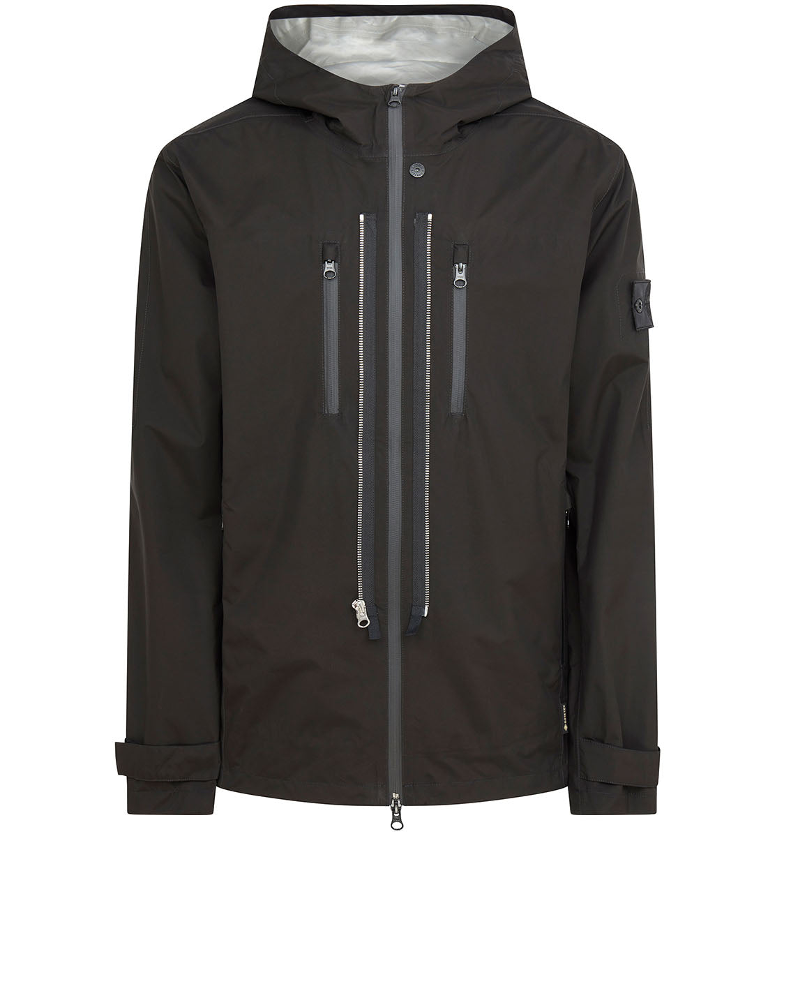40501 TWIN ZIP SHELL Jacket in Black