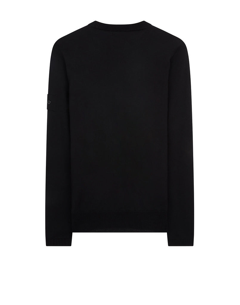 506A4 CATCH POCKET CREWNECK Knit in Black