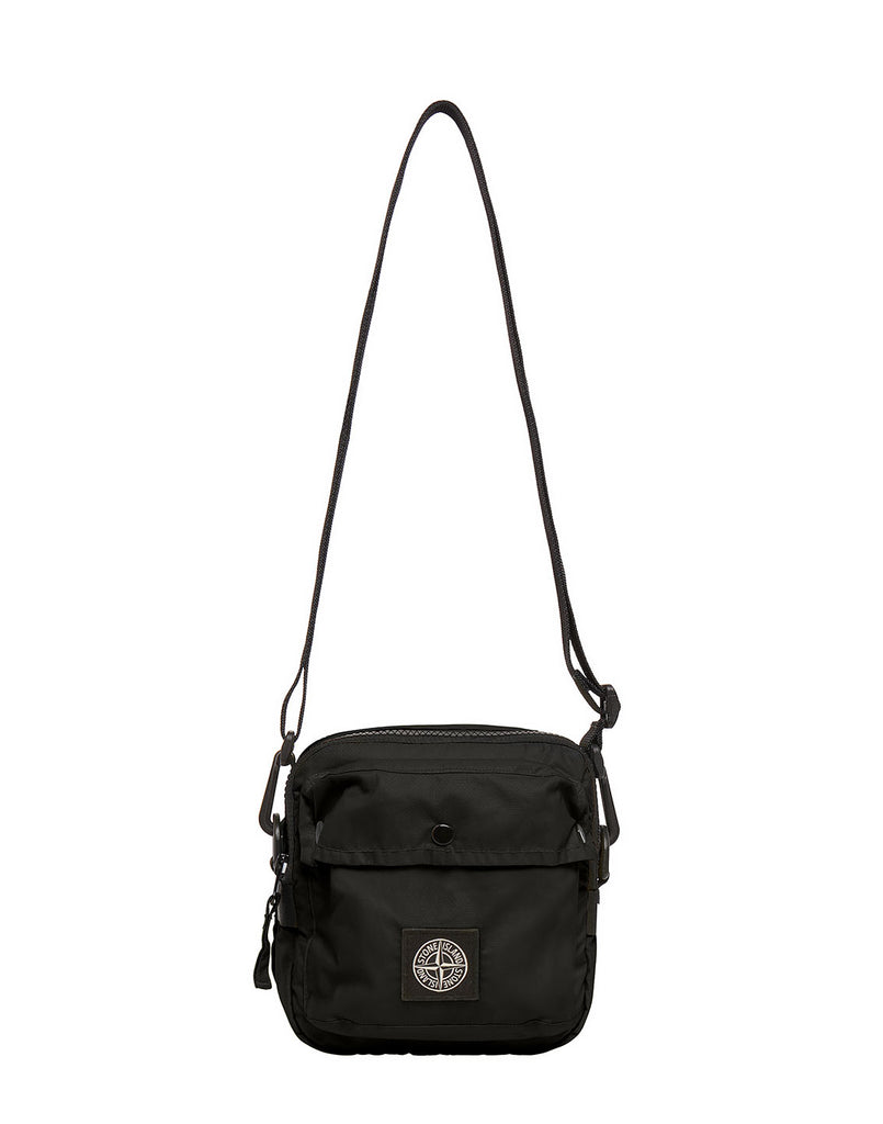 90270 MUSSOLA GOMMATA CANVAS PRINT Bumbag in Black